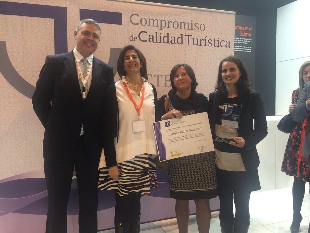 Premio Mejor Gestor SICTED 2015 Destino Málaga