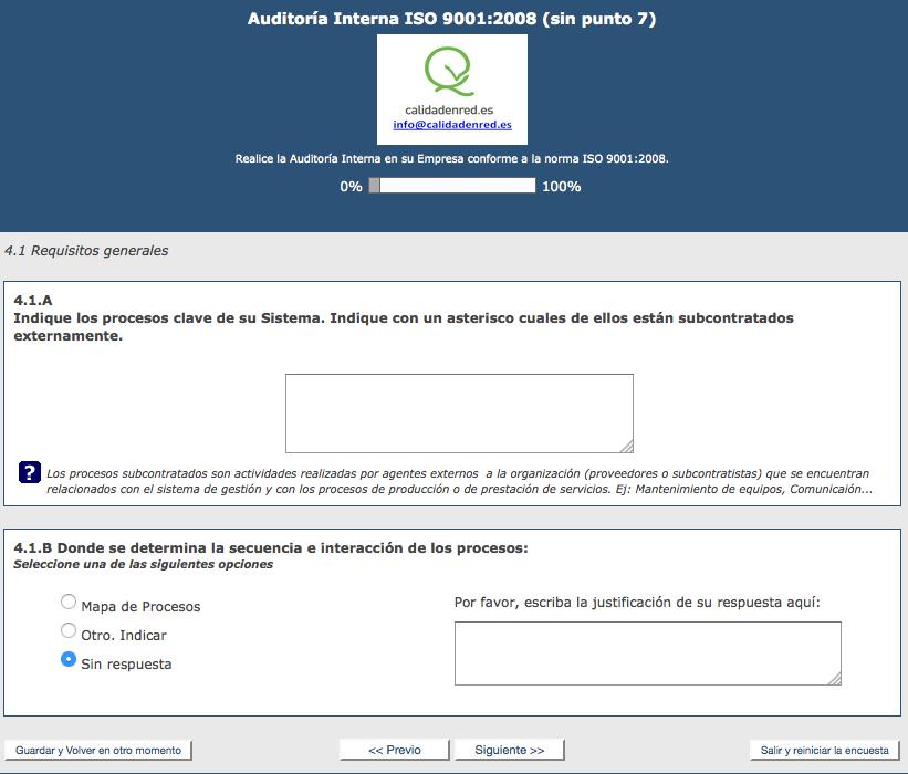 Co-Auditoría Interna ISO9001